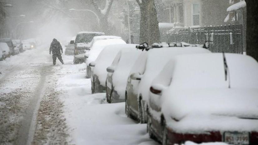 Снежная буря стоила экономике США $5 млрд