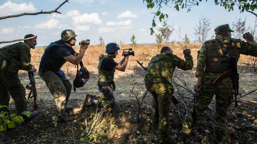 HRW: Журналисты подвергаются очень высокому риску на Украине