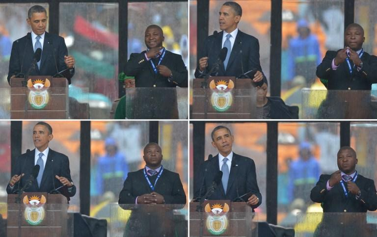 «Фальшивый» переводчик с панихиды по Нельсону Манделе признался, что болен шизофренией