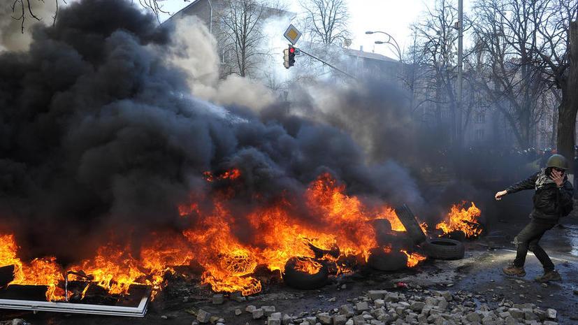 Украина заверила Евросоюз, что не будет применять оружие против мирных демонстрантов