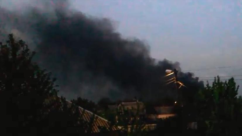 Украинская армия ведёт бой в Константиновке