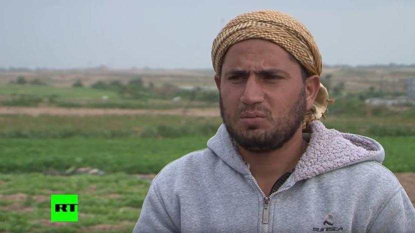 Армия Израиля отравила палестинские посевы в секторе Газа