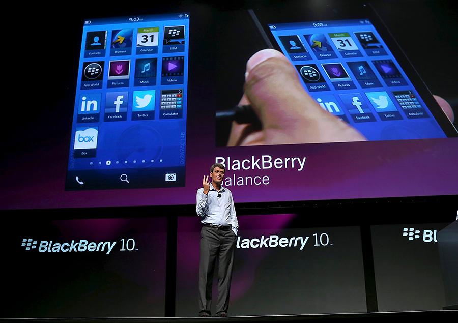 BlackBerry потерял миллион абонентов