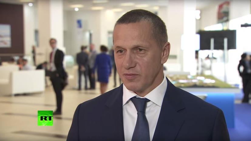 Юрий Трутнев в интервью RT: На острове Русский будет создан научно-образовательный кластер
