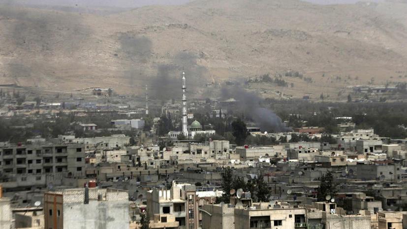 Немецкие СМИ: Террористы оставляют Дамаск, и в этом заслуга Москвы