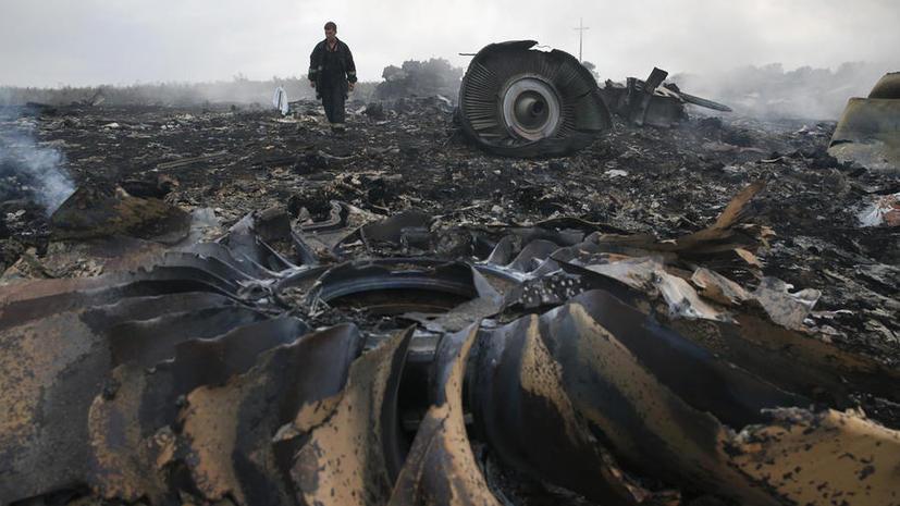 Политолог: Новое видео с места крушения MH 17 призвано подтвердить выводы комиссии Нидерландов