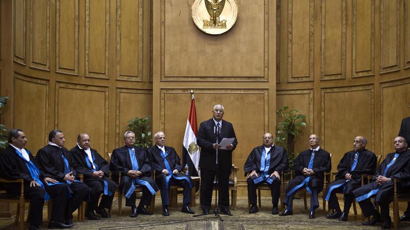 В Египте завершена подготовка новой Конституции