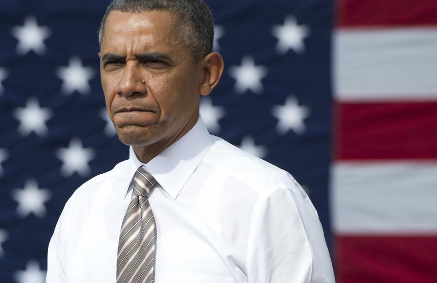 Опрос: Внешнюю политику Обамы поддерживают только 37% жителей США