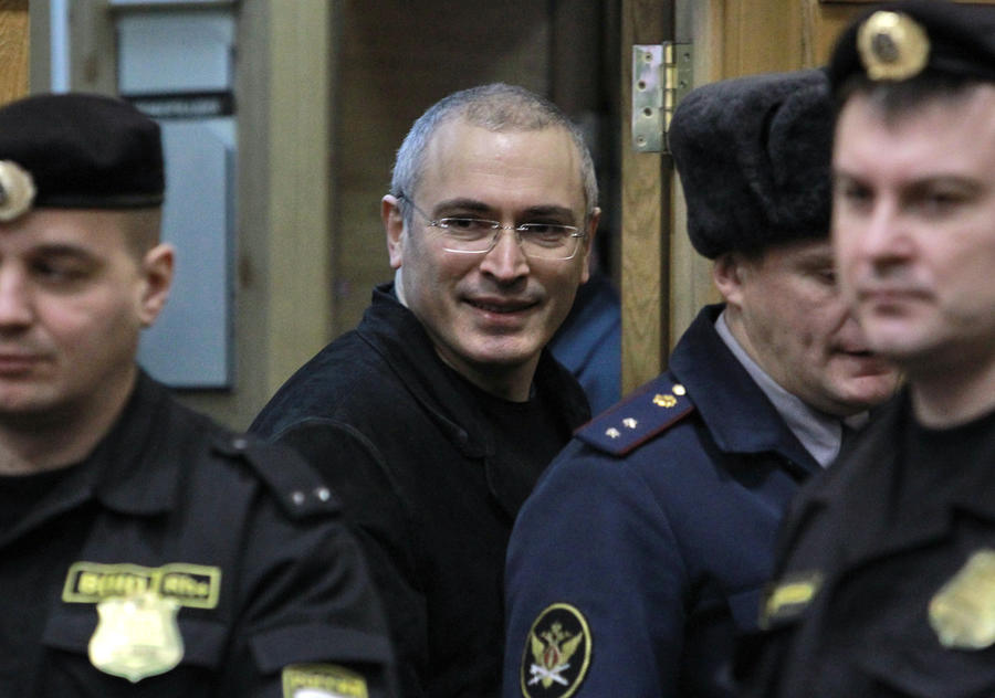 Верховный суд огласил решение по надзорной жалобе в отношении Ходорковского и Лебедева
