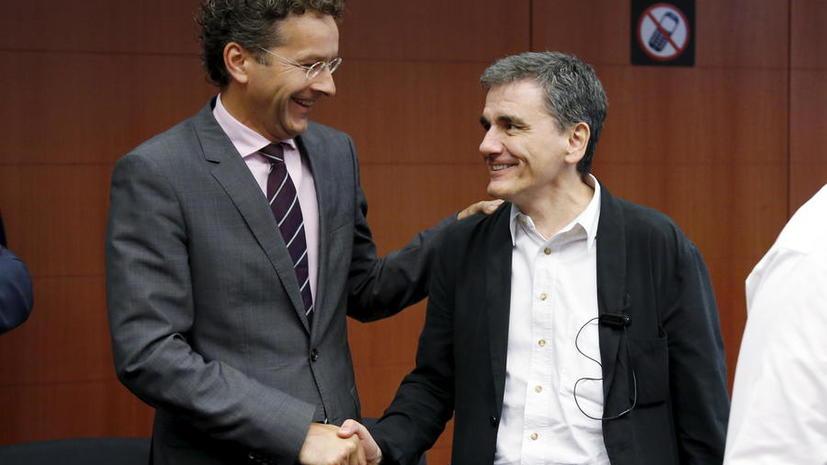 Еврогруппа согласилась выделить Греции помощь объёмом до €86 млрд