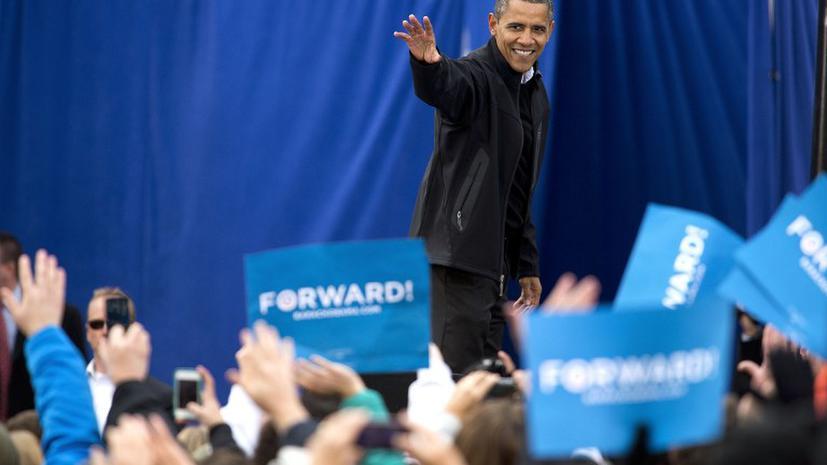 Выборы в США: Обама вырвался вперед
