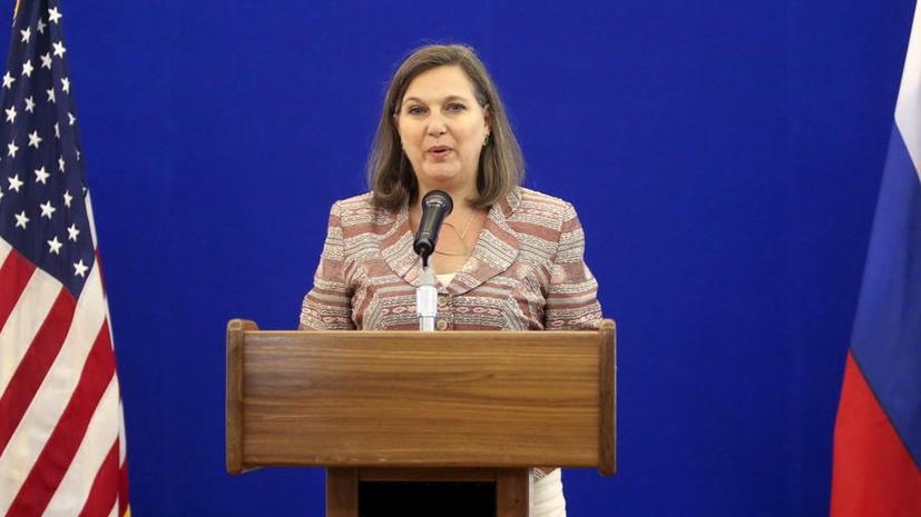 Виктория Нуланд: Уход России из Сирии не повлияет на санкционный режим США