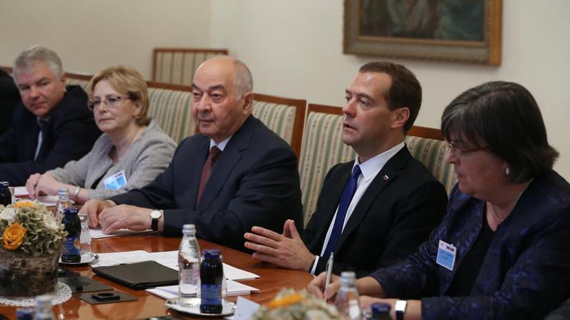 Дмитрий Медведев: Россия выступает за территориальную целостность Украины с учётом решений по Крыму