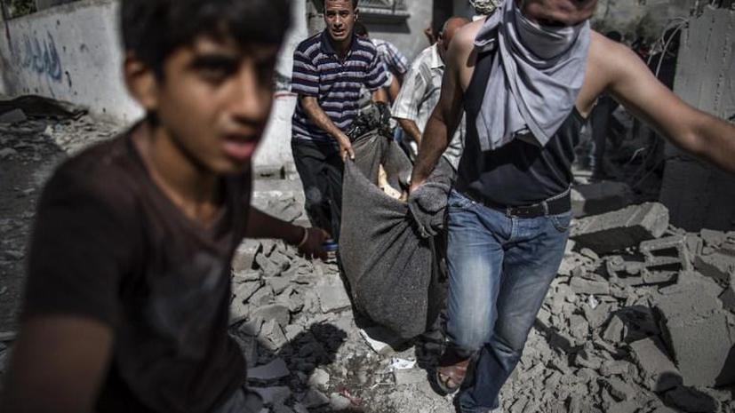 Число жертв операции Израиля в секторе Газа превысило 1000 человек