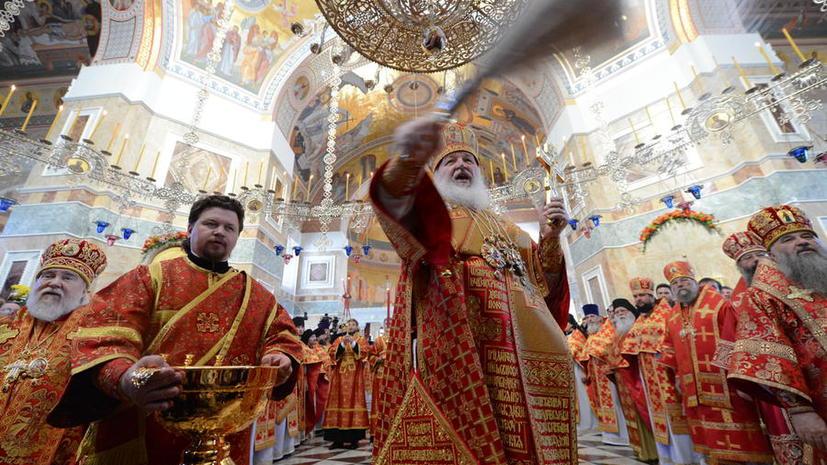 Патриарх Кирилл: однополые браки – грех перед Богом