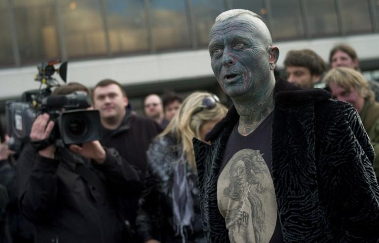 За пост президента Чехии поборется один из самых татуированных людей страны