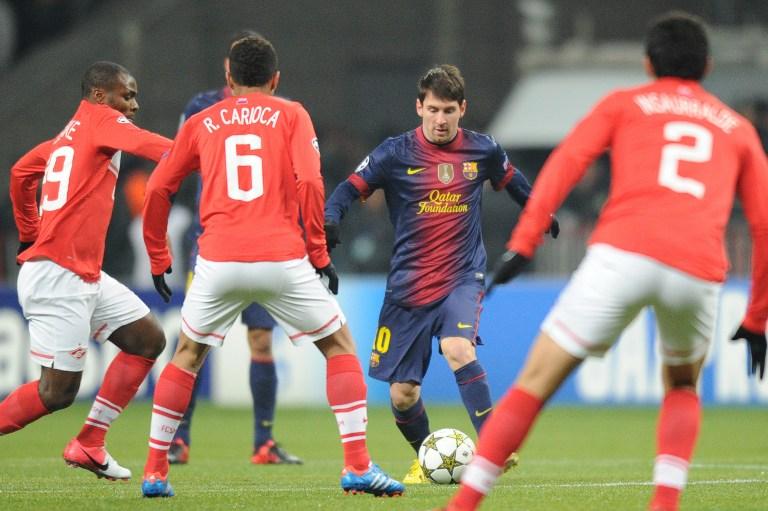 «Барселона» снова не дала шансов «Спартаку»