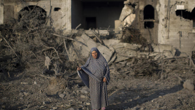 Новость об обстреле Израиля американский телеканал проиллюстрировал кадрами из сектора Газа