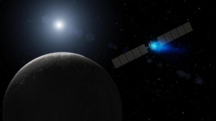 Впервые в истории космический зонд добрался до карликовой планеты Церера