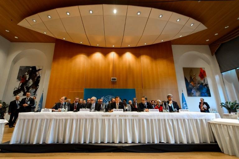 В Монтрё состоялось первое пленарное заседание конференции Женева-2