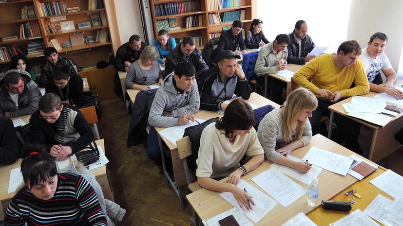 СМИ: Мигрантов из ДНР и ЛНР могут освободить от экзаменов по русскому языку и истории