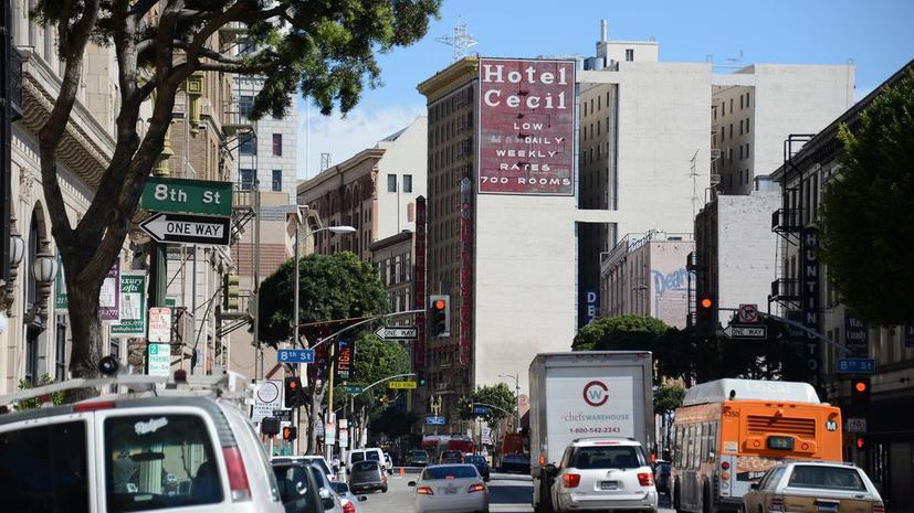 Отель в США засудят из-за трупа в водонапорном баке