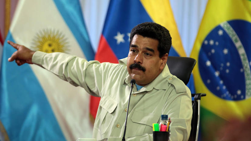 Николас Мадуро: За беспорядками в Венесуэле и на Украине стоят одни и те же люди