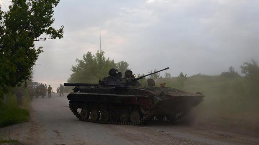 Ополчение: В ходе боя под Луганском украинские силовики убили семь ополченцев, по ошибке расстреляли 30 сослуживцев