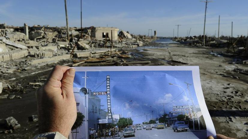 Спустя 25 лет в Аргентине всплыл затопленный город