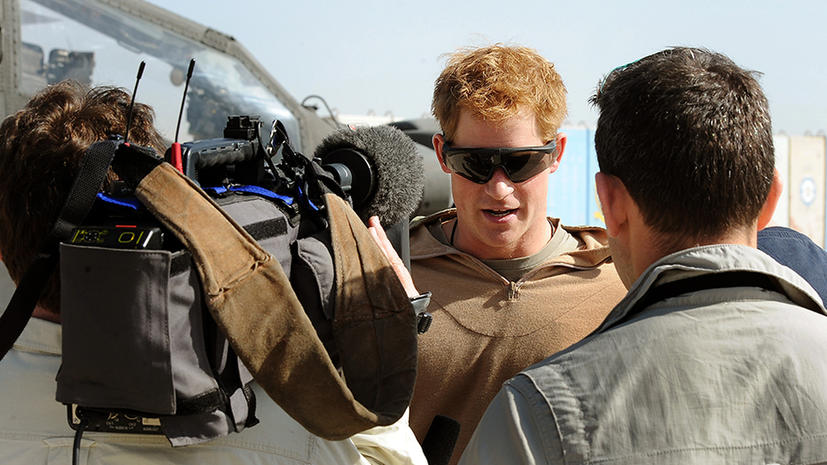 Принц Гарри: «В Афганистане я забирал жизнь, чтобы спасти жизнь»