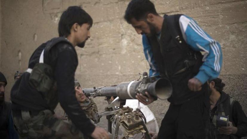 Американцы тренируют сирийских повстанцев в Иордании