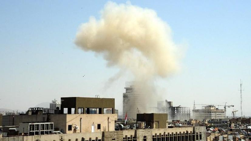 Четыре охранника российского посольства пострадали в результате взрывов в Дамаске