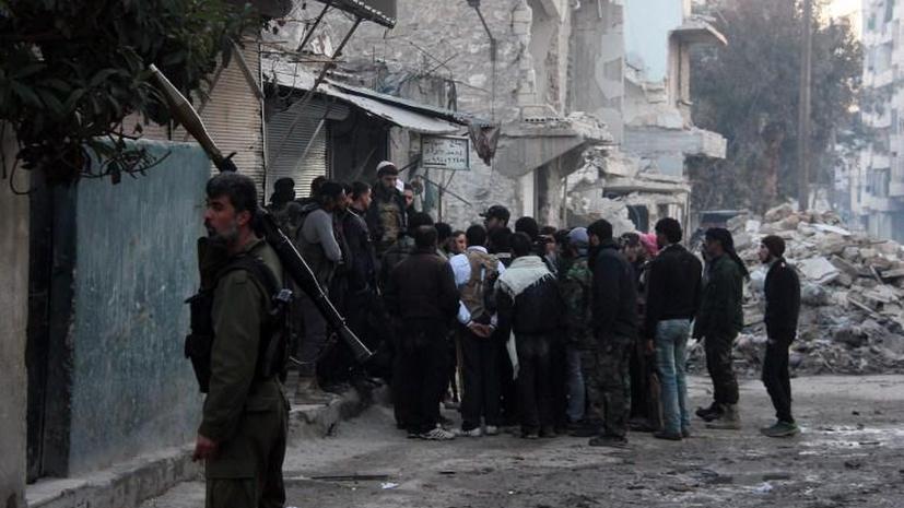 Сирийские боевики разгромили штаб-квартиру исламистов в Алеппо