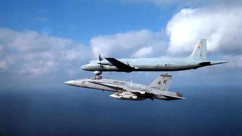 Минобороны: Полёты российских военных самолётов близ границ Японии не угрожают безопасности этой страны