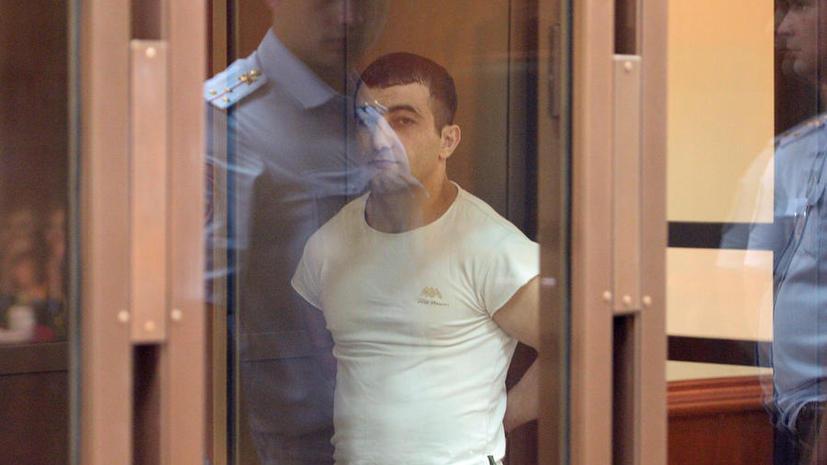 Орхан Зейналов за убийство Егора Щербакова приговорён к 17 годам заключения
