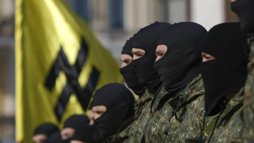 Бойцы украинского «Азова» возмущены отказом Вашингтона тренировать батальон