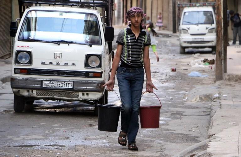 Сирийские исламисты оставили Алеппо без воды