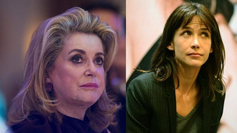 Катрин Денёв и Софи Марсо поссорились из-за президента Франции