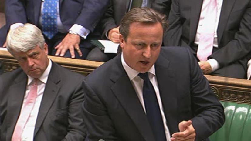Британские парламентарии призывают Дэвида Кэмерона провести заново голосование по Сирии