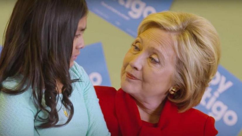 Пользователи соцсетей заподозрили Хиллари Клинтон в неискренности