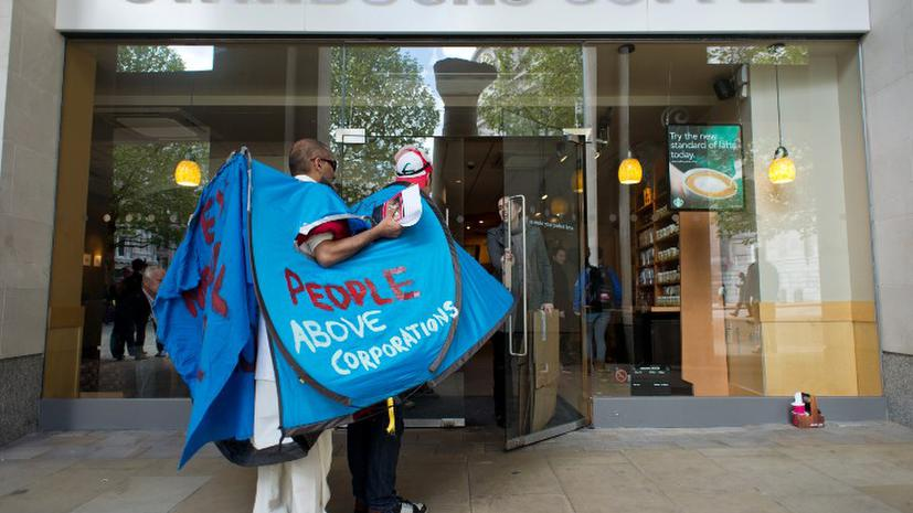 Британские депутаты обвиняют Starbucks, Google и Amazon в недоплате налогов