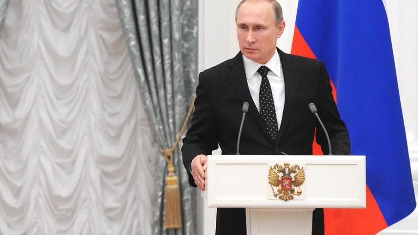Владимир Путин: В бочках с нефтью, которые покупает Турция у террористов, кровь наших граждан