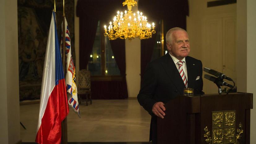 Экс-президент Чехии: Антироссийская пропаганда Запада смехотворна