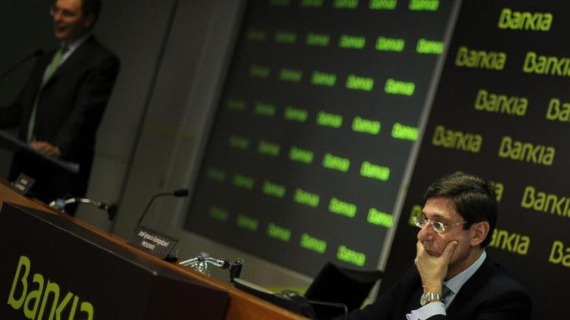 Испанские вкладчики теряют сбережения: акции Bankia резко упали в цене