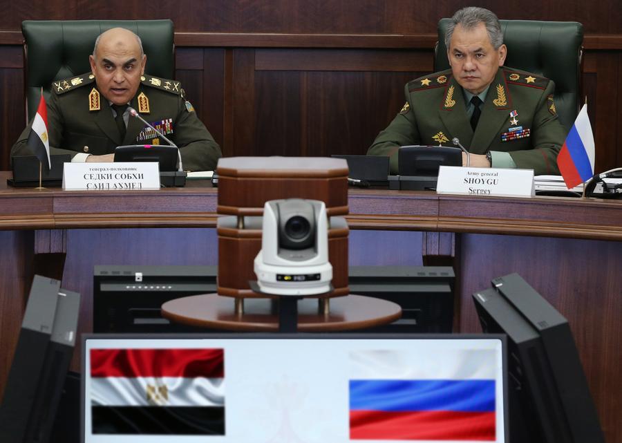 Минобороны РФ: Каир верит, что объединение усилий с Москвой позволит добиться победы над терроризмом