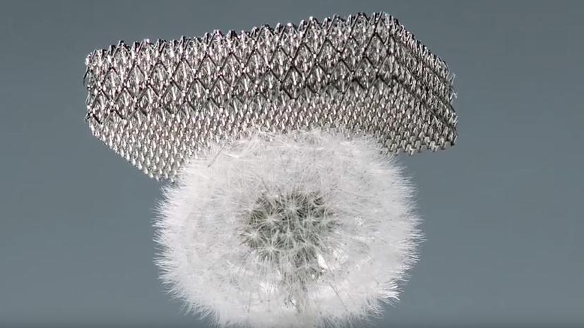 Компания Boeing заявила, что разработала самый лёгкий в мире материал на основе металла
