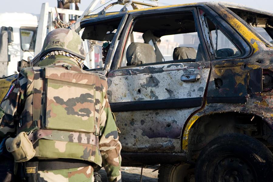 На солдат НАТО в Афганистане напали местный военнослужащий и ребёнок