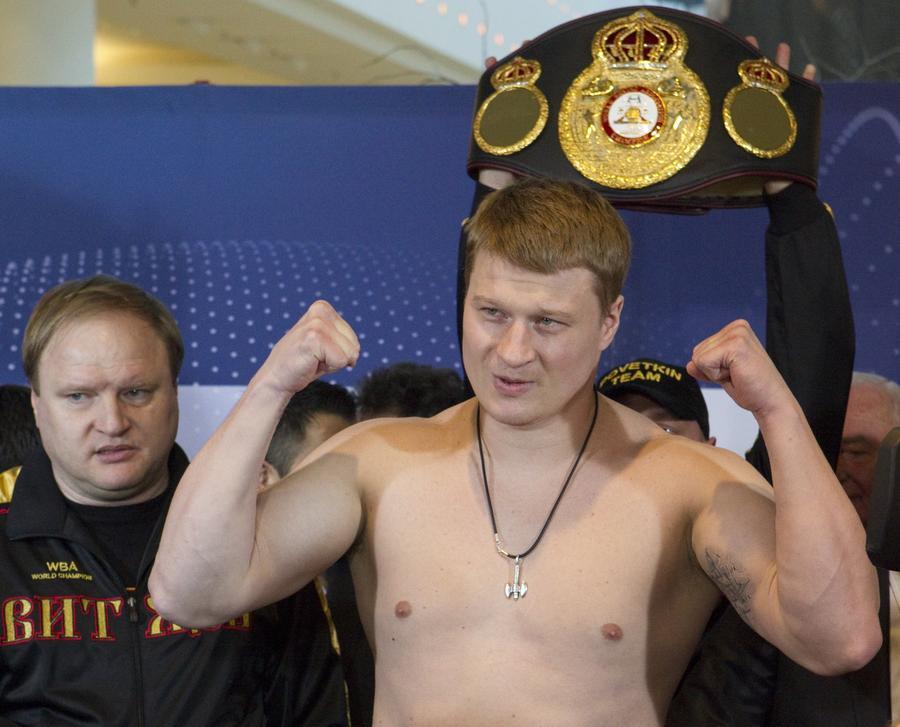 Александр Поветкин отказался от услуг промоутера