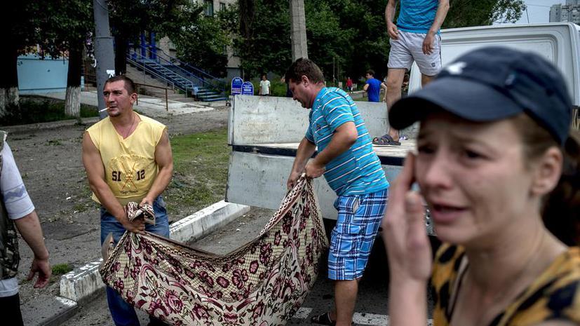 HRW: Украинская армия ответственна за гибель мирного населения Луганска