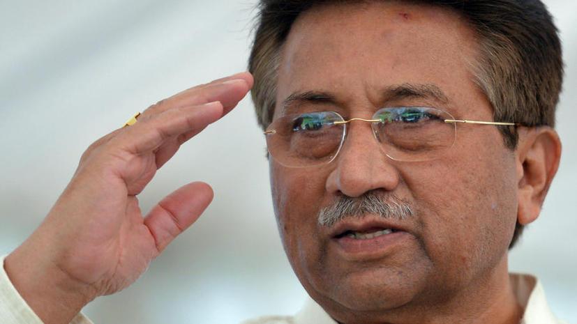 Суд постановил арестовать экс-президента Пакистана Первеза Мушаррафа